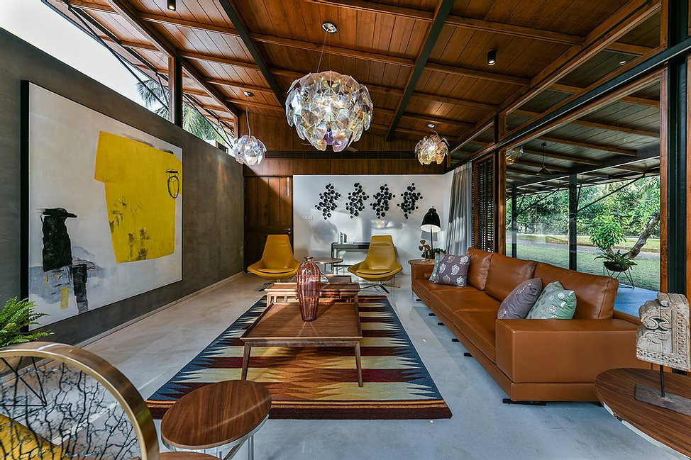 The Skew House Project : Interior