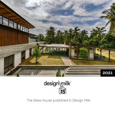The Skew House Published in Design Milk