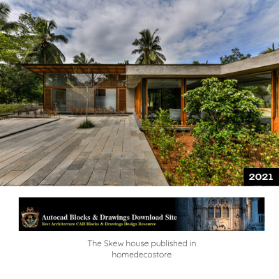The skew house published in Homedecostore