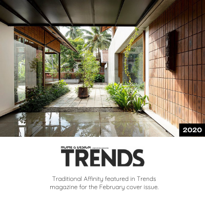 Traditional Affinity featured in Trends Magazine - February Cover Issue