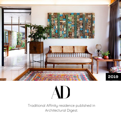 Traditional Affinity is published in Architectural Digest