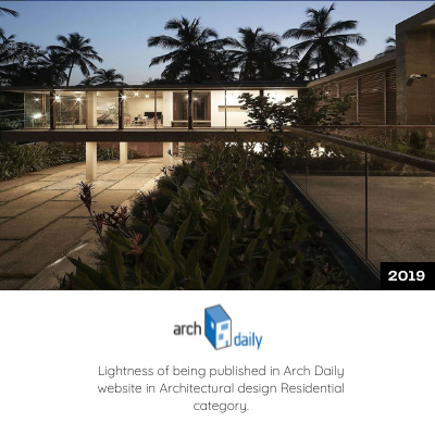 Lightness of Being is published in Arch Daily