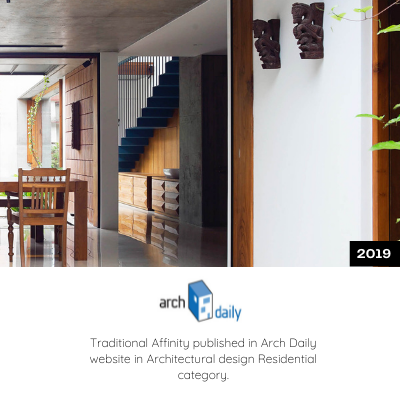 Traditional Affinity is published in Arch Daily