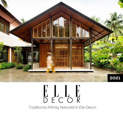 Traditional Affinity featured in Elite Decor
