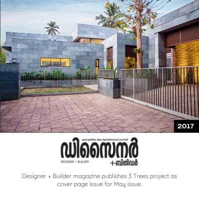Designer + Builder Magazine Publishes 3 Trees Project.