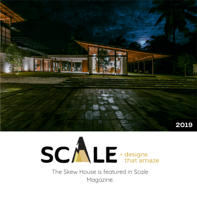The Skew House is featured in Scale Magazine