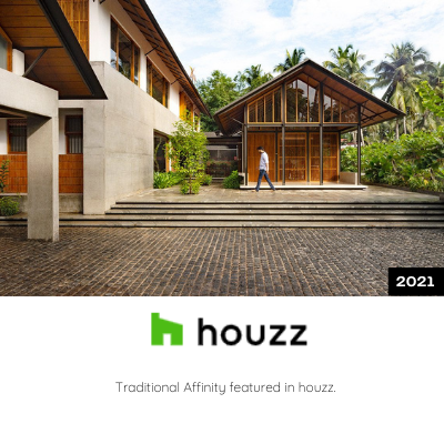 Traditional affinity featured in Houzz