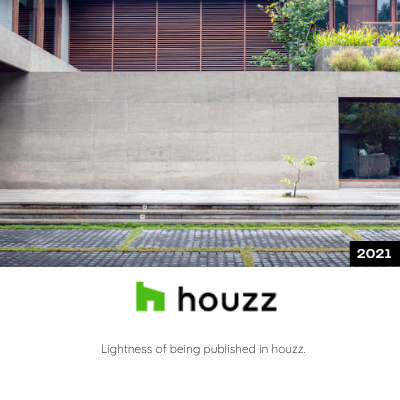 Lightness of Being Published in Houzz